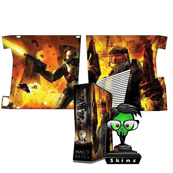 Skin Console XBOX 360 Slim Halo Reach