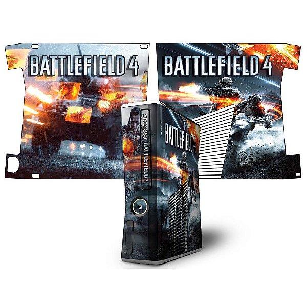 Skin Console XBOX 360 Slim Battlefield 4 mod 2