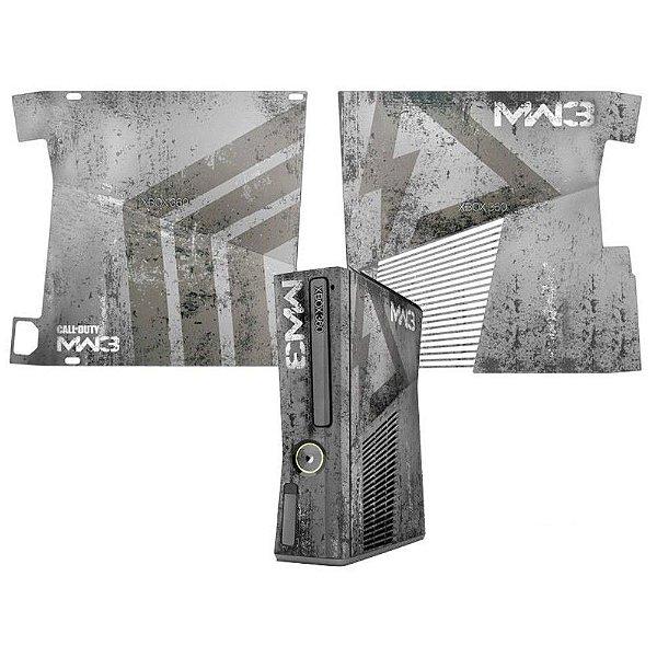 Skin Console XBOX 360 Slim Call of Duty MW3