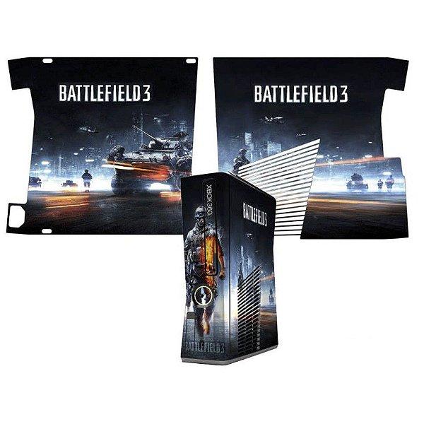 Skin Console XBOX 360 Slim Battlefield 3