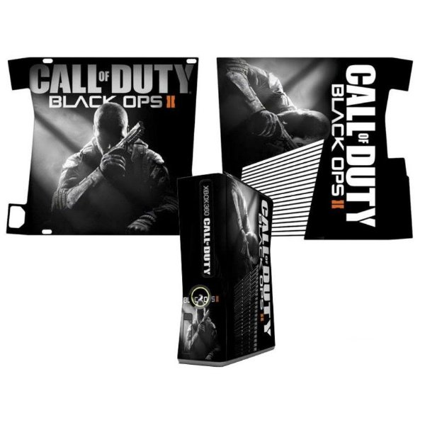 Skin Console XBOX 360 Slim Call of Duty Black Ops 2 mod 2