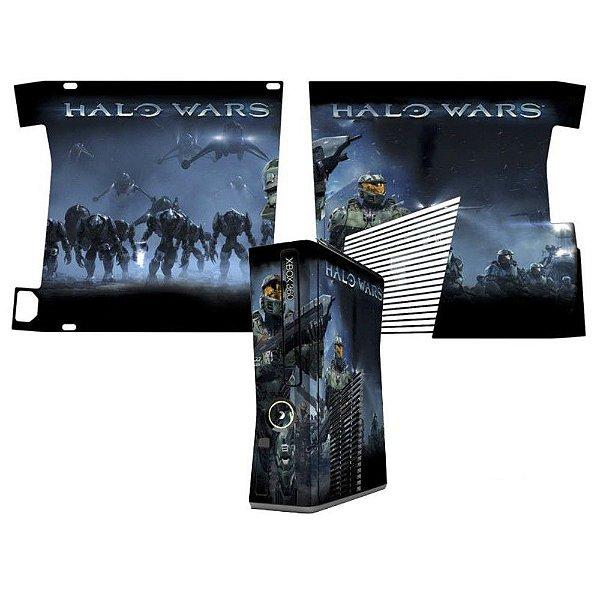Skin Console XBOX 360 Slim Halo Wars mod 2