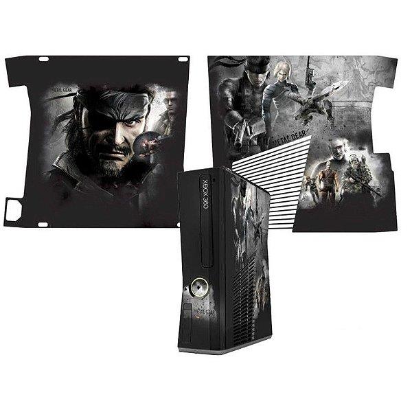 Skin Console XBOX 360 Slim Metal Gear Mod 2