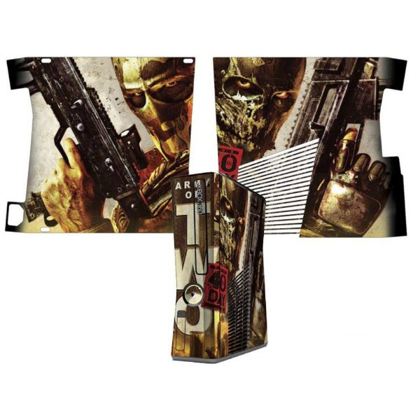 Skin Console XBOX 360 Slim Army of Two