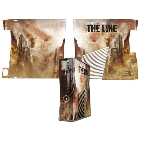 Skin Console XBOX 360 Slim Spec Ops The Line