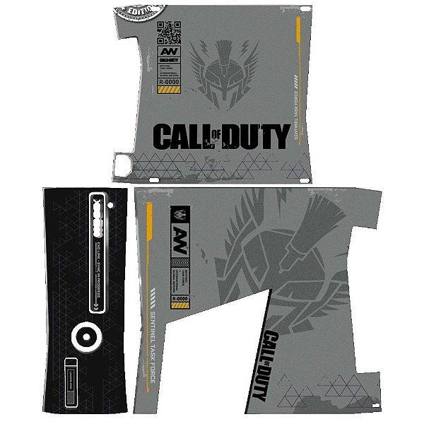 Skin Console XBOX 360 Slim Call of Duty mod 2