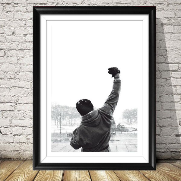 Placa decorativa Rocky Balboa