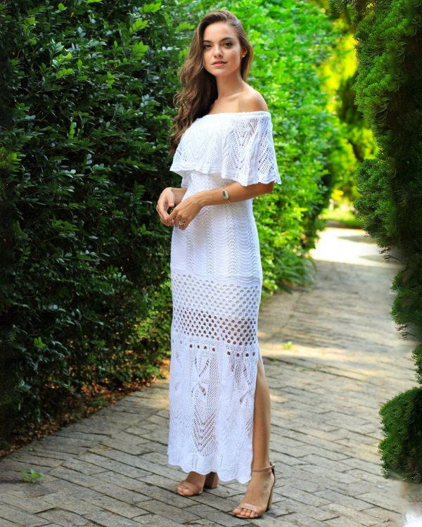 Vestido Angra Branco
