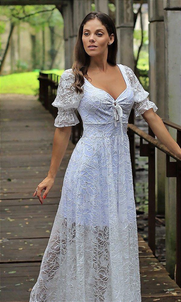 Vestido Viena Branco