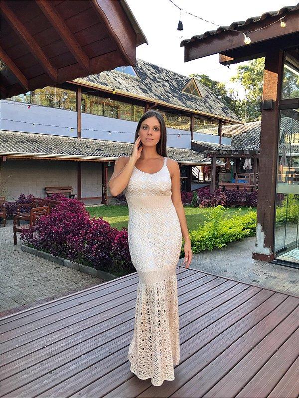 Vestido Monaco Champagne