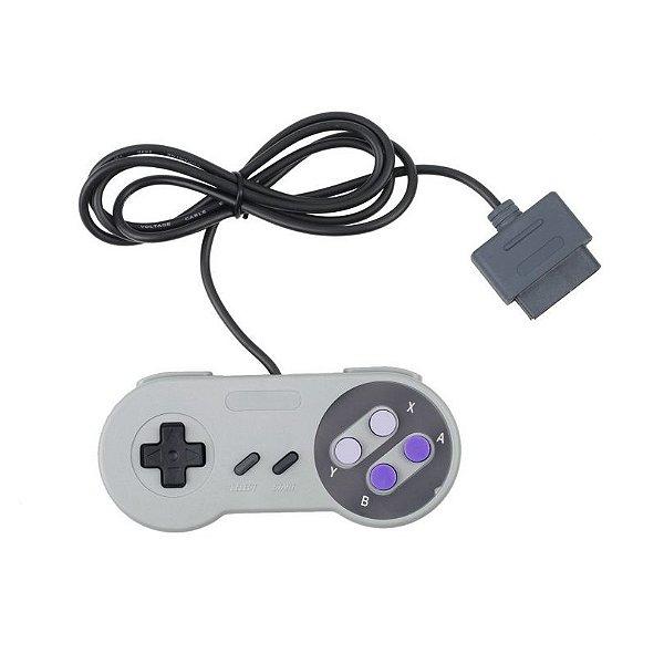 Controle Super Nintendo - Lacrado novo - MugenMundo