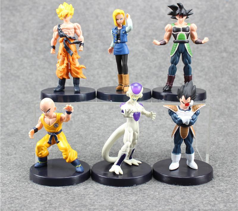 Bonecos Dragon Ball Z Goku Freeza Kuririn Android18 Cell  - MugenMundo