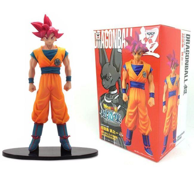 Boneco Dragon Ball Z God Son Goku - Bandai Banpresto