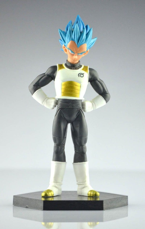 Vegeta Super Saiyajin Blue Action Figure / Boneco / Vegeta Deus - MugenMundo