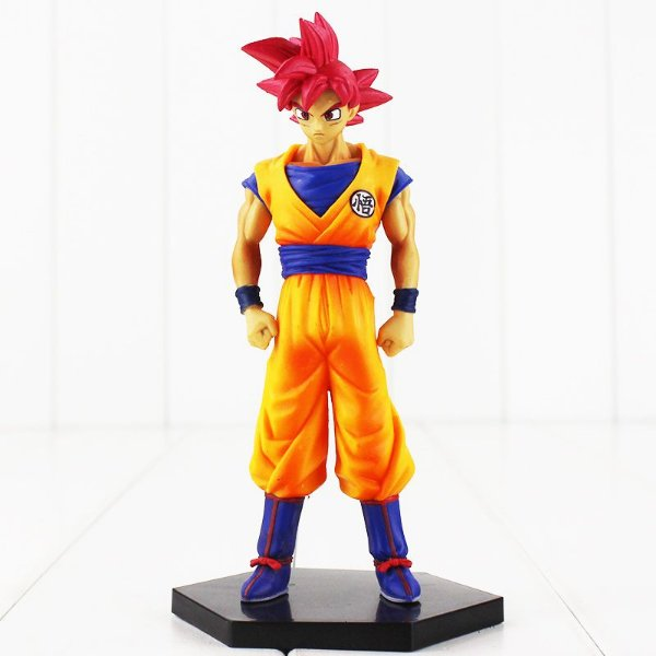 Goku God Super Saiyajin Boneco Dragon Ball Super Banpresto