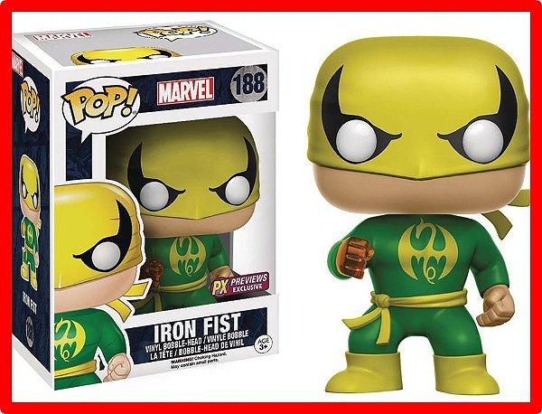 Funko Pop! Marvel Defenders Iron Fist Punho De Ferro Netflix