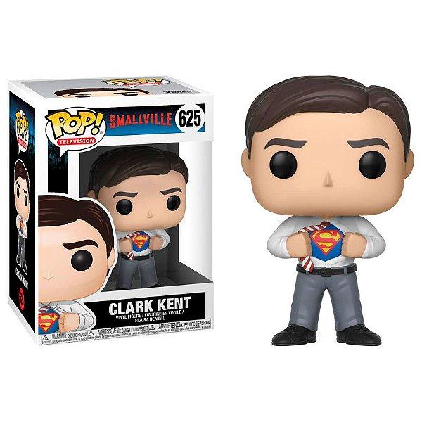 Funko Pop Clark Kent 625 Smallville Superman Boneco Novo