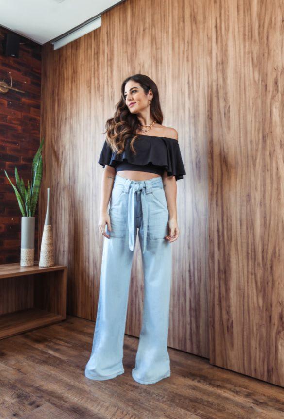 Calça Pantalona Diana - Clara