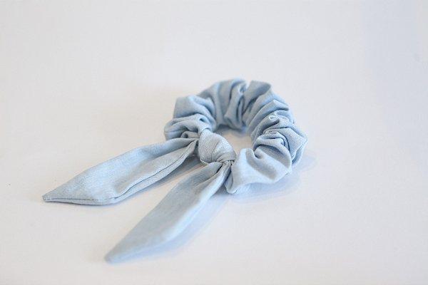 Scrunchie - Azul Bebê