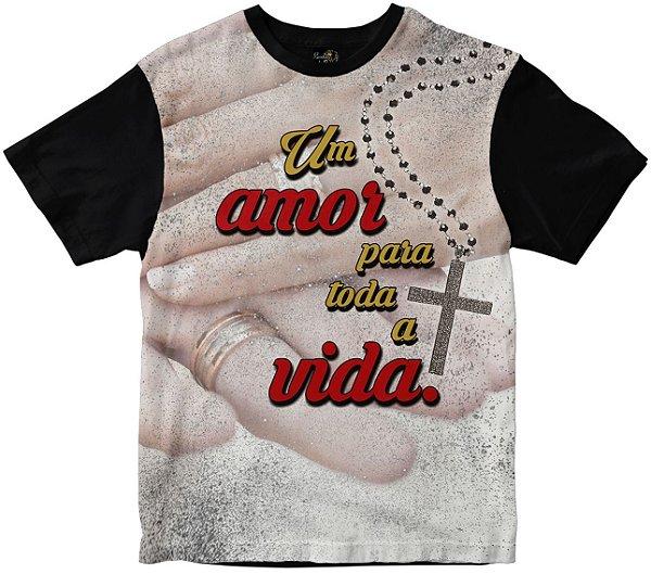 Camiseta Um Amor Para Toda Vida Rainha do Brasil