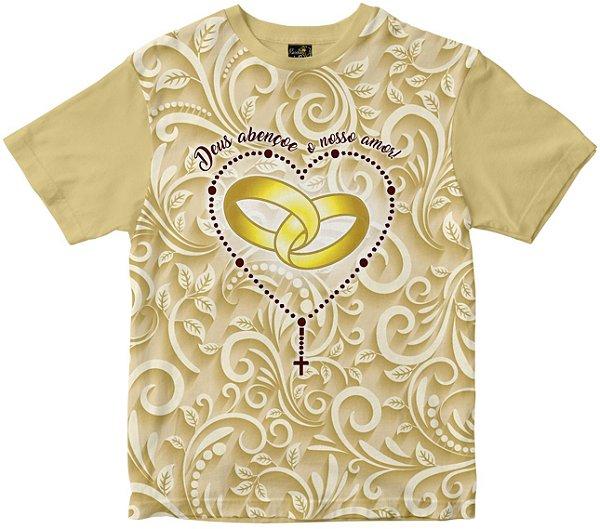 Camiseta Deus Abençoe Nosso Amor Rainha do Brasil