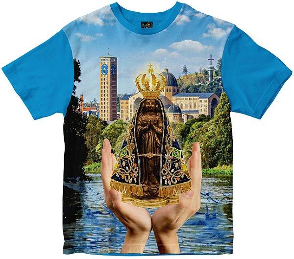 LANÇAMENTO Camiseta Nossa Senhora Senhora Aparecida Rainha do Brasil
