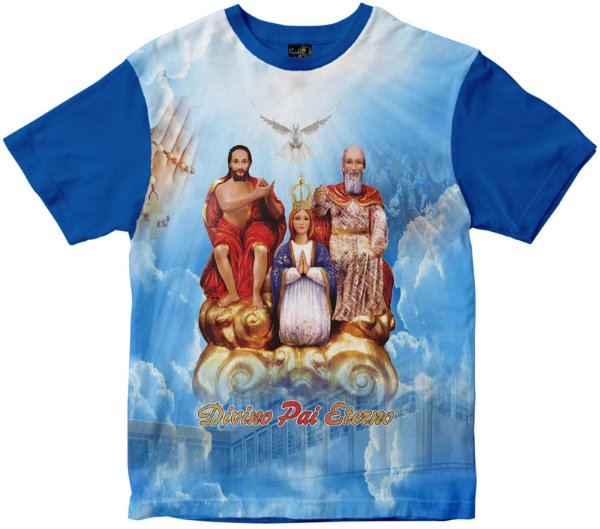 Camiseta Divino Pai Eterno Rainha do Brasil