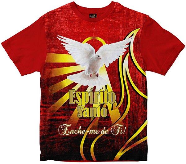 Camiseta Espírito Santo Enche-me de ti Rainha do Brasil