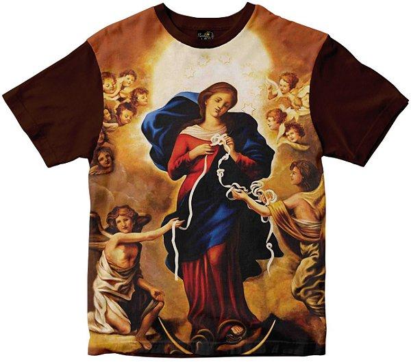 Camiseta Nossa Senhora Desatadora dos Nós Rainha do Brasil