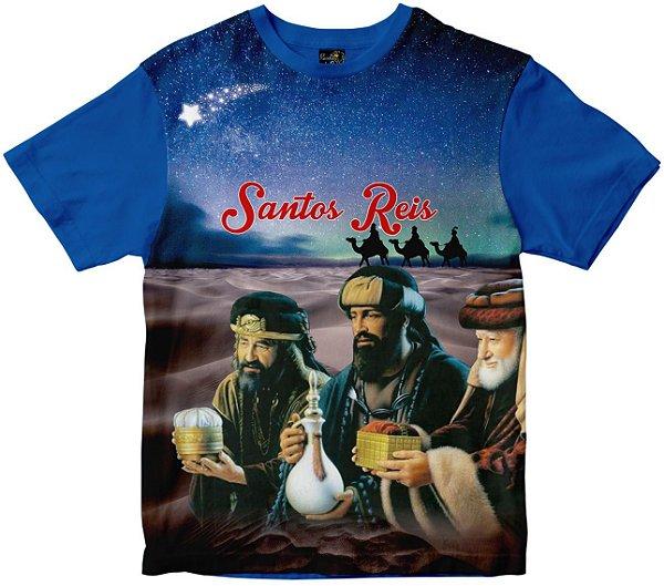 Camiseta Santos Reis Rainha do Brasil
