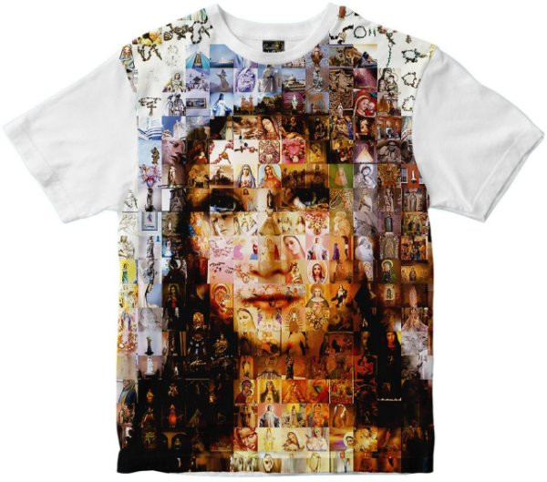 Camiseta Nossa Senhora diversas Faces Rainha do Brasil