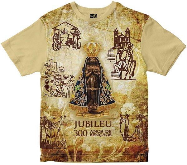 Camiseta 300 Anos Nossa Senhora Aparecida Rainha do Brasil