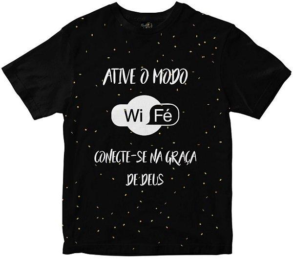 Camiseta WIFÉ Rainha do Brasil