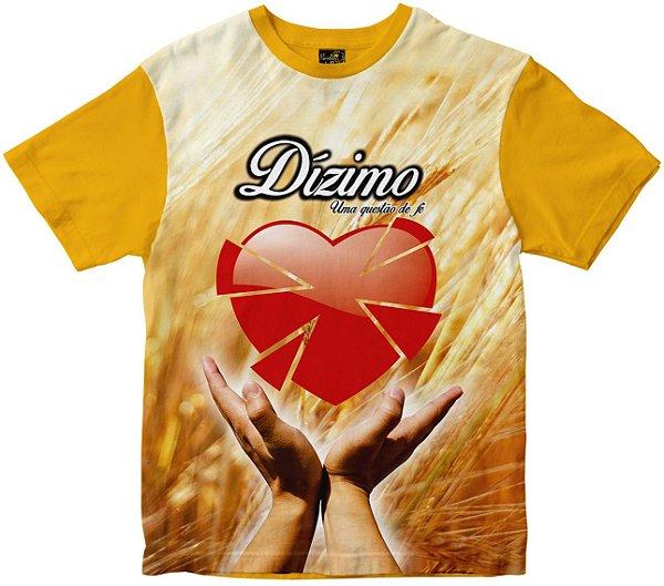 Camiseta Dízimo uma questão de fé Rainha do Brasil