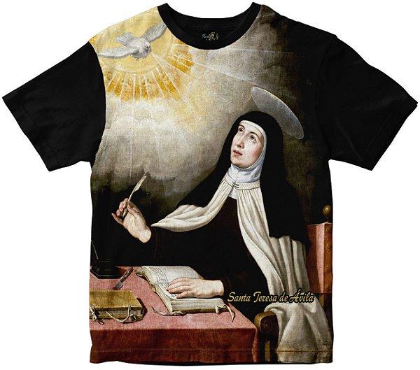 Camiseta Santa Teresa D'ávila Rainha do Brasil