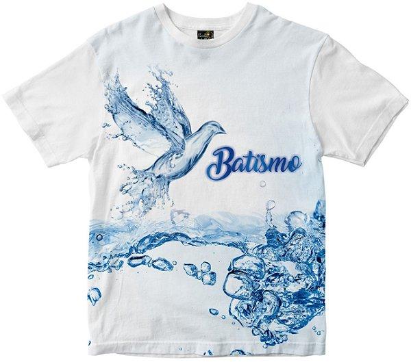 Camiseta de Batismo Rainha do Brasil