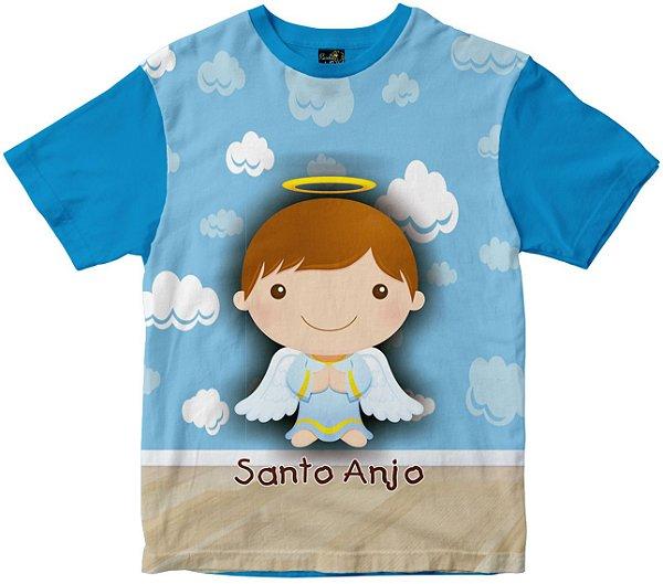 Camiseta Anjo da Guarda masculina Rainha do Brasil