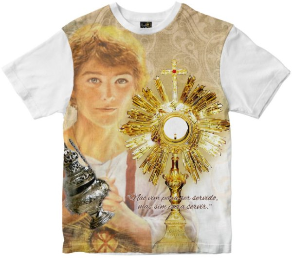 Camiseta São Tarcísio Rainha do Brasil