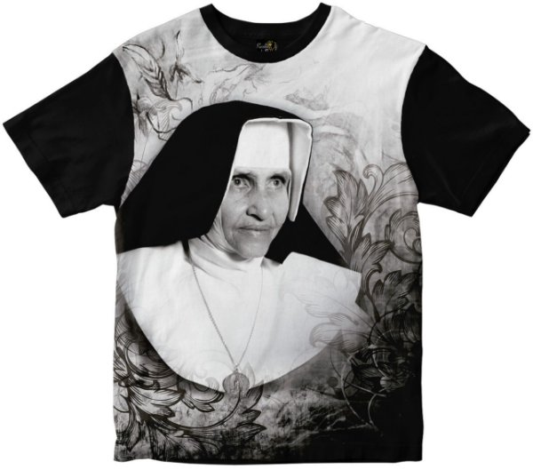 Camiseta Santa Irmã Dulce Rainha do Brasil