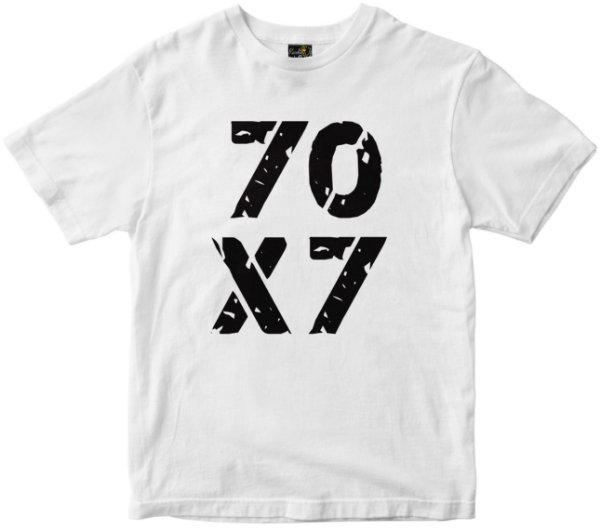 Camiseta 70x7 Rainha do Brasil branca Rainha do Brasil