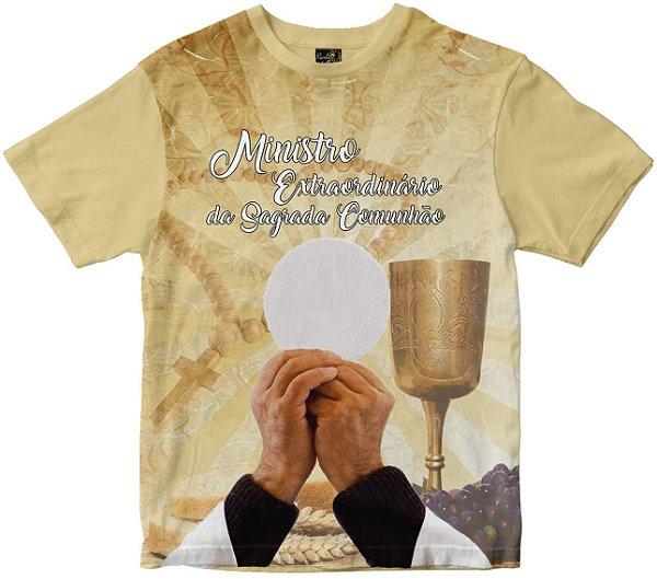 Camiseta Ministro Ext. da Sagrada Comunhão Rainha do Brasil
