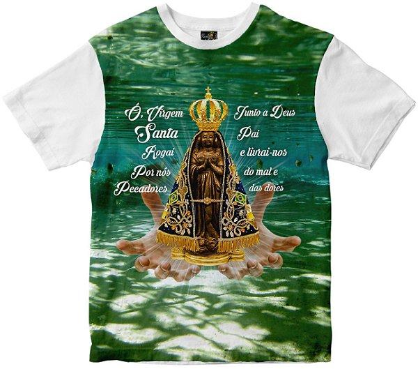 Camiseta Nossa Senhora Aparecida Rainha do Brasil