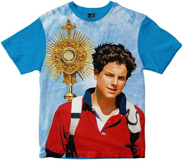 Camiseta Beato Carlo Acutis  Rainha do Brasil