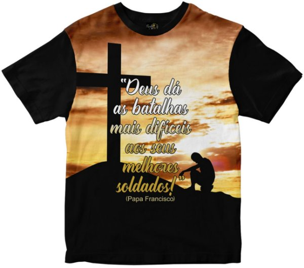Camiseta Deus dá as Batalhas Rainha do Brasil