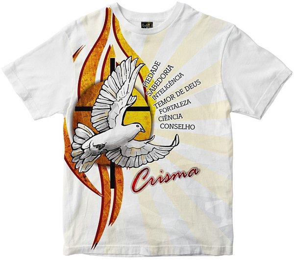 Camiseta de Crisma Rainha do Brasil