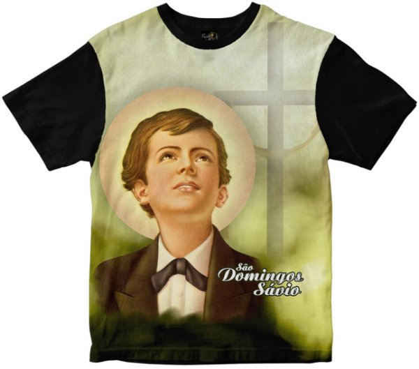 Camiseta São Domingos Sávio Rainha do Brasil