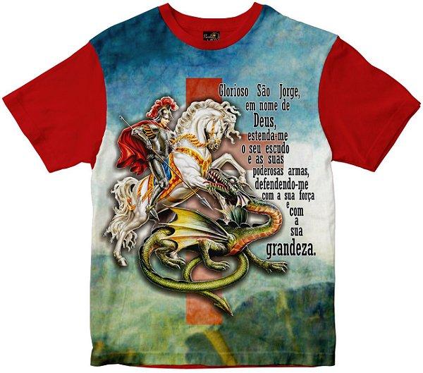 Camiseta São Jorge Rainha do Brasil