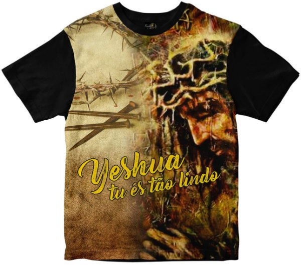 Camiseta Yeshua Rainha do Brasil