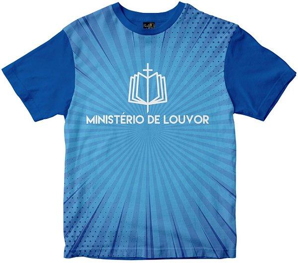 Camiseta Ministério de Louvor Rainha do Brasil