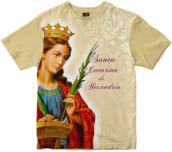 Camiseta Santa Catarina de Alexandria Rainha do Brasil